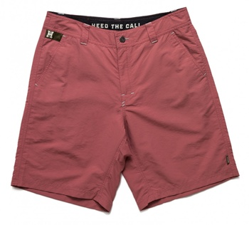 Howler Bros Horizon Hybrid Shorts Coral Red
