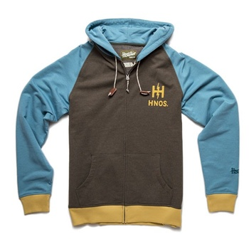 Howler Bros Peacemaker Hoodie Fatigue/Current Blue