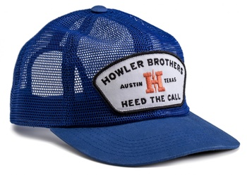 Howler Feed Store Snapback Royal Blue