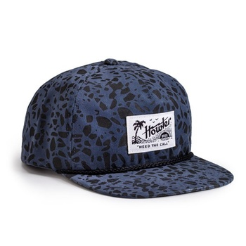 Howler Bros Paradise Snapback Hat Sea Glass Print