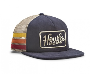 Howler Bros Classic Snapback - Navy/Stripes
