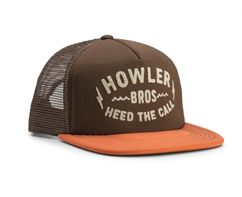 Howler Bros Sign Painter Snapback - Chocolate Brown