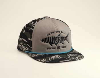 Howler Bros Silver King Flat Brim Camo Hat