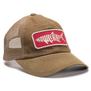 Howler Bros Silver King Waxed Brown Meshback Hat