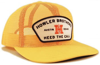 Howler Bros Feed Store Snapback All Mesh Yellow