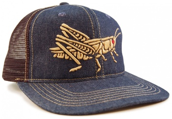 Howler Bros Hopper Snapback Denim