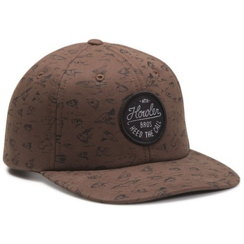 Howler Bros Fishheads Cocoa Snapback Hat