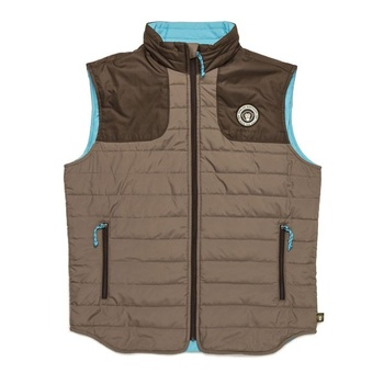 Howler Merlin Vest Bison Brown