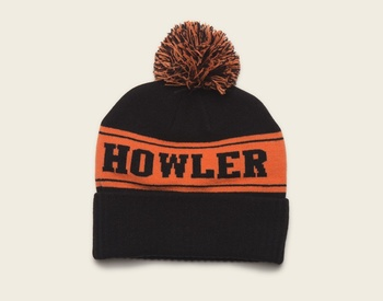 Howler Bros Beanie Black/Orange