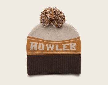 Howler Bros Beanie Brown/White