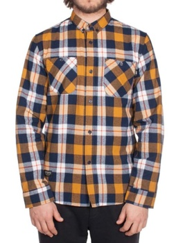 Hooke Adventure Shirt Navy & Yellow