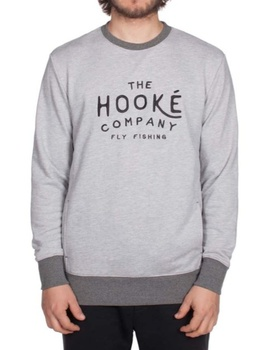 Hooke Company Crewneck Heather Grey