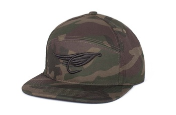 Hooke The Fly Hybrid Cap Camo
