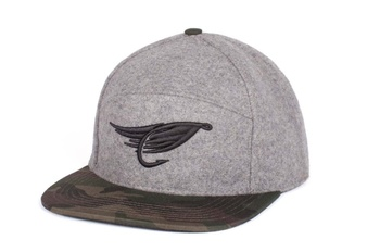 Hooke The Fly Hybrid Cap Grey & Camo