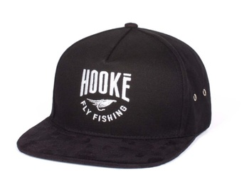 Hooke The Fly Fishing Strap Back Hat Black
