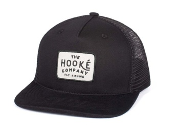Hooke The Company Trucker Hat Black