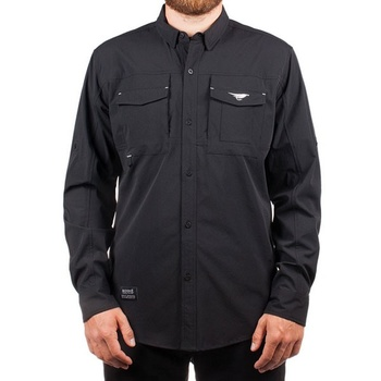 Hooke Fisherman Shirt Black