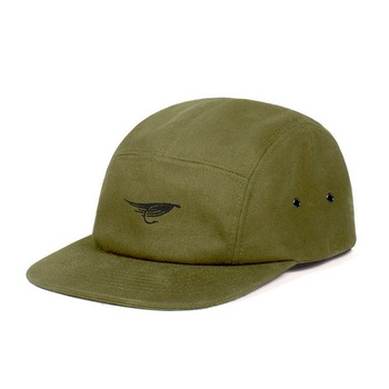 Hooke Fly Camper Hat Military Green