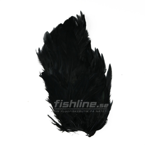 Hen Patches/Soft Hackle - Black