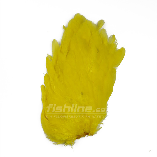 Hen Patches/Soft Hackle - Yellow