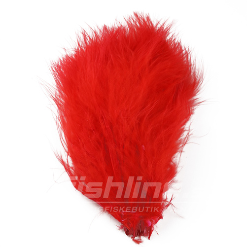Marabou Plumes - Fluo Red