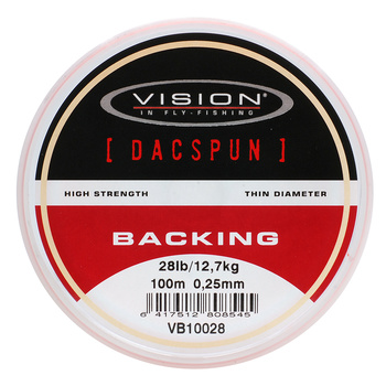 Vision Backing DACSPUN 100m 0,25mm/28lb