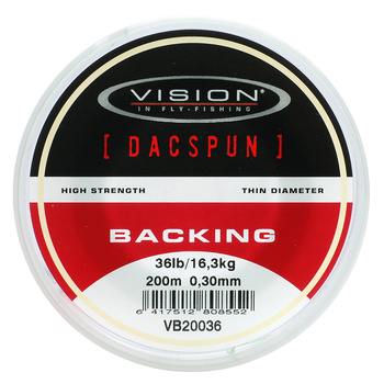 Vision Backing DACSPUN 200m 0,30mm/36lb