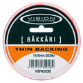 Vision Backing Bäkkäri Orange - 20lb/100m