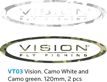 Vision VISION Sticker Camo 120mm 2 pieces