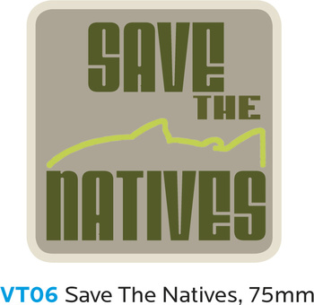 Vision SAVE THE NATIVES Sticker
