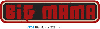 Vision BIG MAMA Sticker