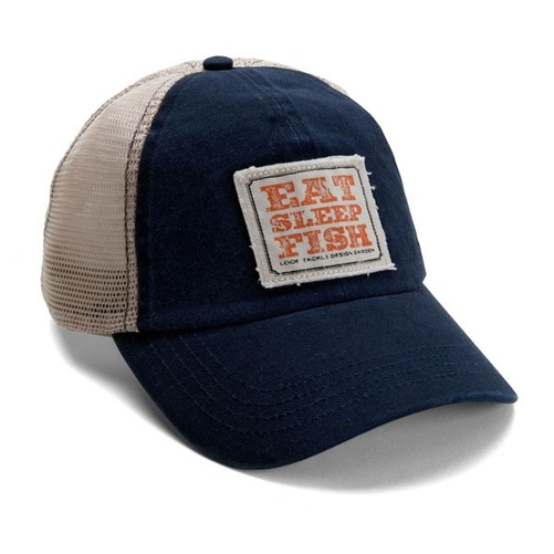 Loop Eat Sleep Fish Cap Navy/Tan