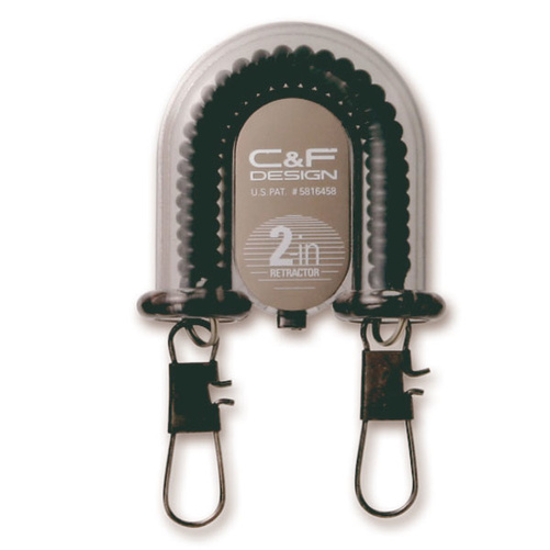 C&F 2-in-1 Retractor Black (CFA-70-BK)
