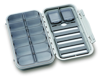 C&F Large 5-Row Dry & Nymph WP Fly Case w 12 Comp (CF-3305N)