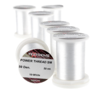 Power Thread White, 50m