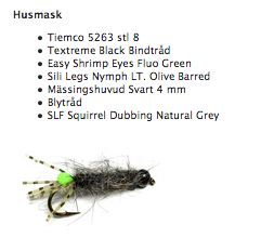 Fly Tying Box - Husmask