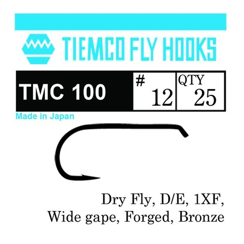 Tiemco 100 Dry Fly 20-pack - #10
