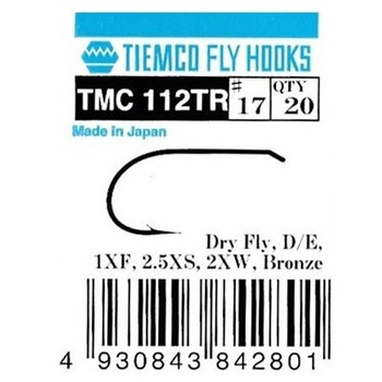 Tiemco 112 Trout Dry Fly, Extra Wide 20-pack