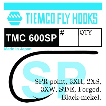 Tiemco 600SP Saltwater 10-pack