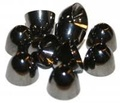 Coneheads M (5,5mm) - Black Nickel