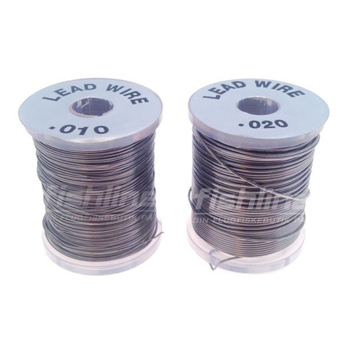 Round Lead Wire - 0,25mm / 0.010 inch