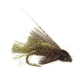 CDC Caddis Emerger Olive # 14