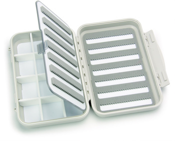 C&F Medium 7-Row WP Fly Case w 12 Comp and F.page (CF-2377)