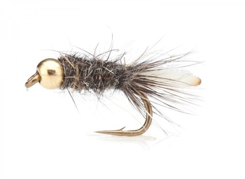 Peeping Caddis (BH) Grey TMC 100 # 12