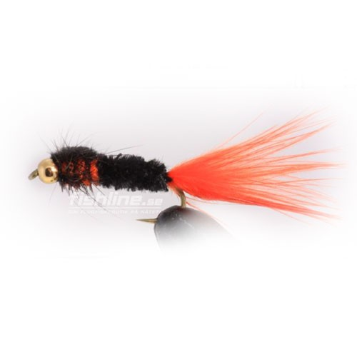 GH Montana Streamer svart/orange size 8