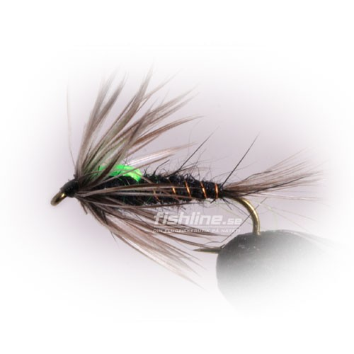 Black Martinez Streamer size 10
