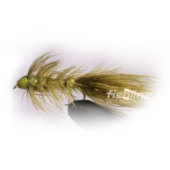 Wolly Bugger Cone olive size 8