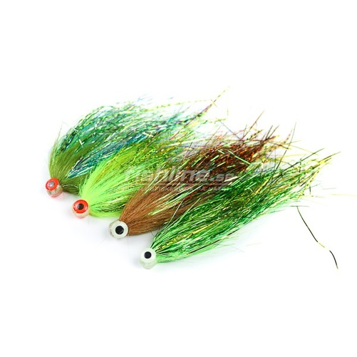 Gäddtub Bauer UV Chartreuse for Wiggletail