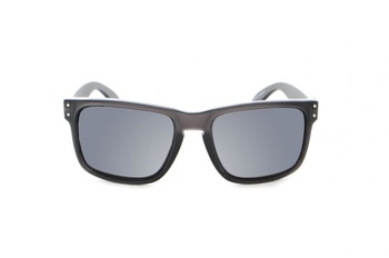 Fortis Bays Polarised Sunglasses Black Smoke