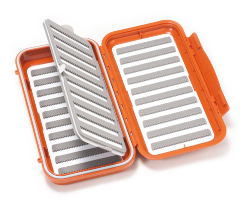 C&F Design Large 20-Row WP Fly Case w Two-Sided F.page  (CF-3510F) Burnt Orange